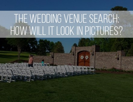 How will your potential wedding venue look in photos?