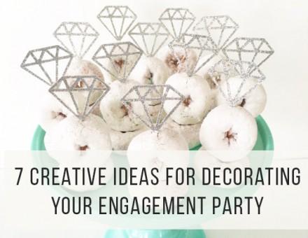 Engagement Party Decor Ideas