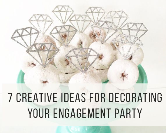 7 creative ideas for decorating your engagement party lindsay aikman photography - Engagement party decoration ideas home property ...