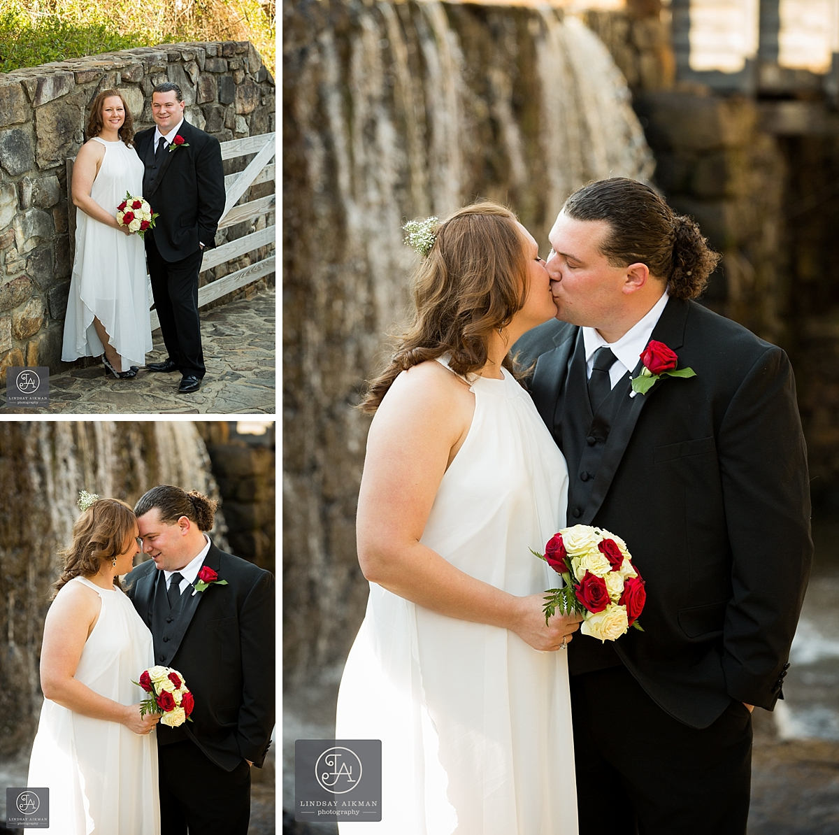 Wedding at Historic Yates Mill, Raleigh
