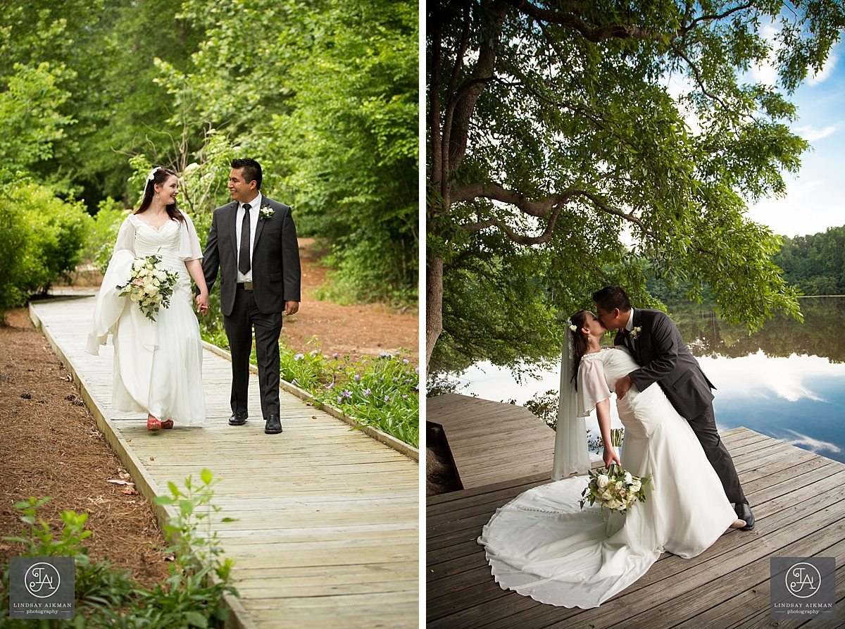 Yates Mill Raleigh Wedding Photographer