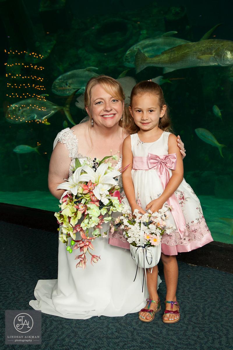 NC Aquarium Raleigh Wedding Photographer