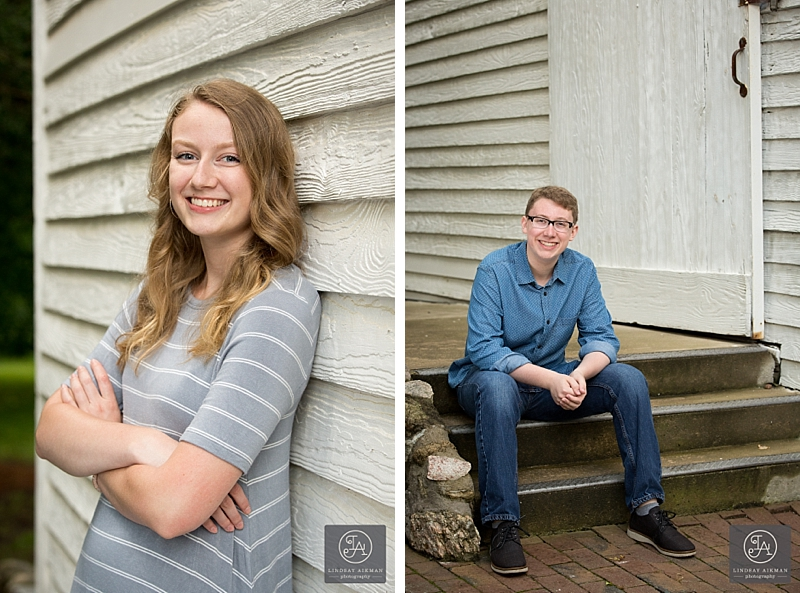 Oak View Raleigh Senior Photographer