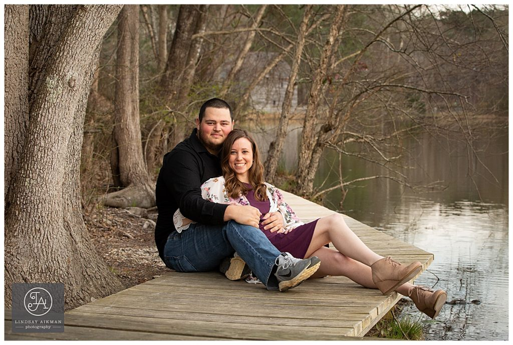 Yates Mill Raleigh Engagement Photography