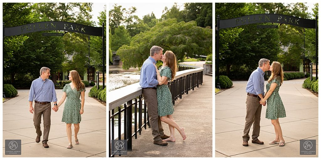 Fred Fletcher Pullen Park Raleigh Engagement Photographer
