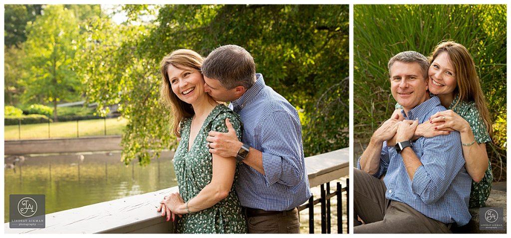 Fred Fletcher Pullen Park Raleigh Engagement Photographer