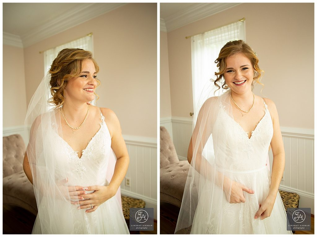 Matthews House Cary Wedding Photographer