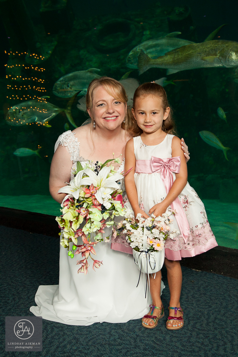 NC Aquarium Raleigh Wedding Photographer