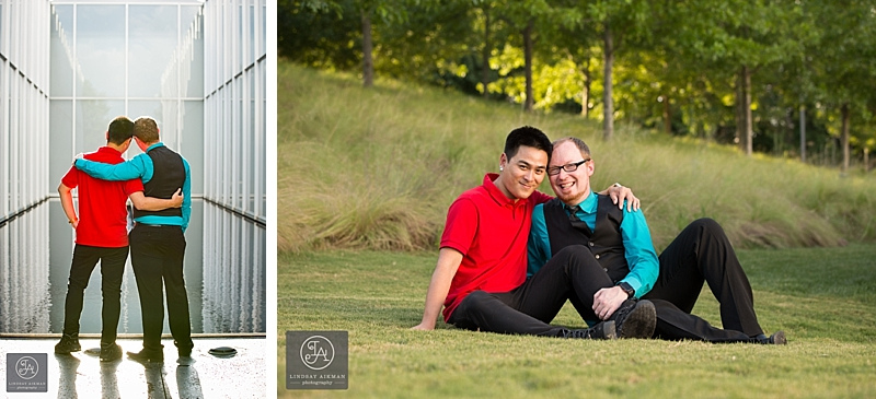 NCMA Raleigh Engagement Photographer