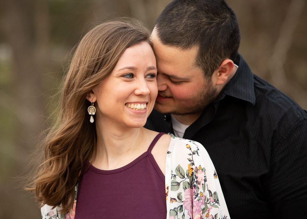 Yates Mill Raleigh Engagement Photographer
