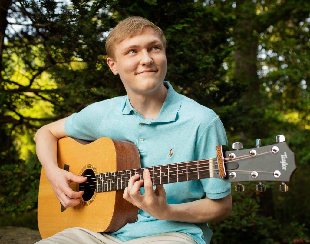 Coker Arboretum Senior Portrait