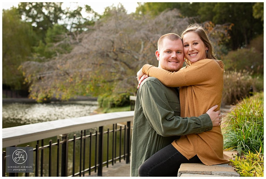 Pullen Park Raleigh Engagement Photographer