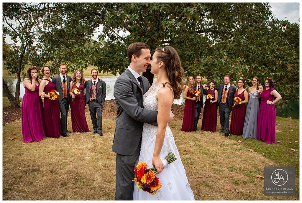 Oaks at Salem Apex Wedding Photographer