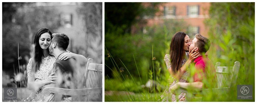Coker Arboretum Chapel Hill Engagement Photographer