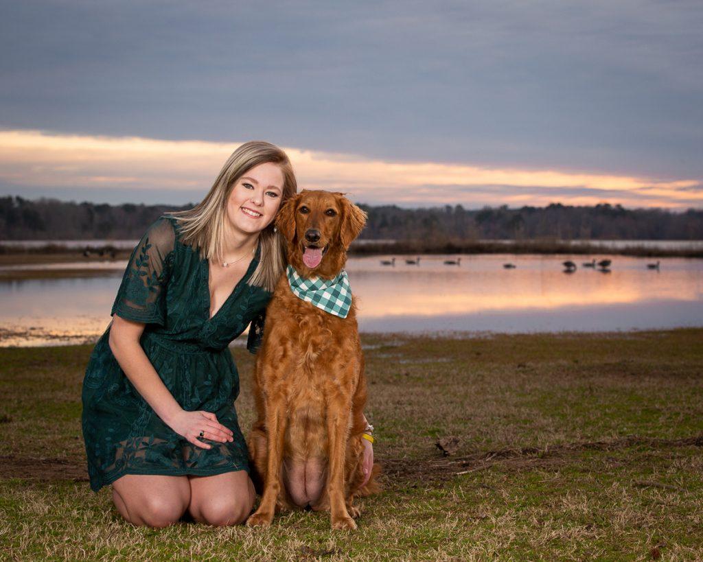 Lake Crabtree Raleigh Pet Photographer