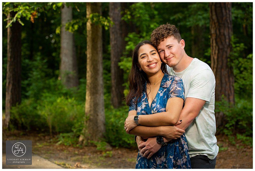 Seagrove Farm Apex Engagement Photographer